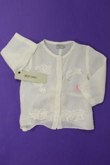 habits bébé Chemisier en soie - NEUF Taille 0 3 mois Taille 0