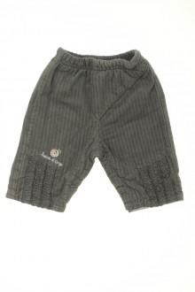 Habits pour bébé occasion Pantalon en velours fin Sucre d'Orge 1 mois Sucre d'Orge