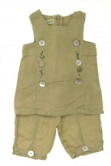 habits bébé Ensemble blouse et pantalon DPAM Naissance DPAM