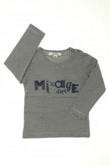 vêtements bébés Tee-shirt manches longues milleraies Marèse 18 mois Marèse