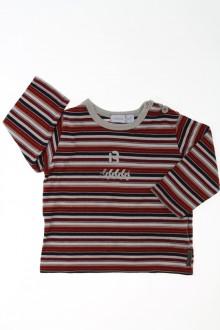 habits bébé Tee-shirt manches longues rayé Mexx 6 mois Mexx