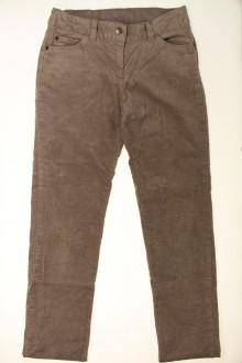 vetements enfants d occasion Pantalon en velours fin Cyrillus 12 ans Cyrillus