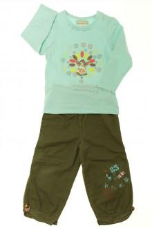 Habits pour bébé Ensemble pantalon en toile et tee-shirt Orchestra 18 mois Orchestra