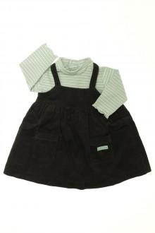 habits bébé Ensemble robe et sous-pull Natalys 9 mois Natalys