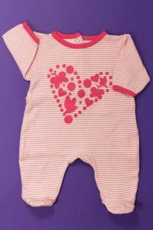 habits bébé occasion Pyjama/Dors-bien en coton milleraies Vertbaudet Naissance Vertbaudet
