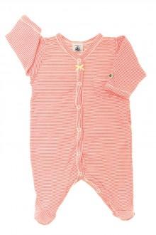 Habits pour bébé Pyjama/Dors-bien en coton milleraies Petit Bateau Naissance Petit Bateau