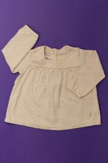 vêtements bébés Tee-shirt manches longues à pois Petit Bateau 6 mois Petit Bateau