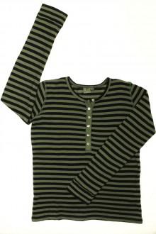 vêtement enfant occasion Tee-shirt rayé manches longues Bonton 12 ans Bonton