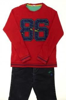 vêtements occasion enfants Ensemble jean et tee-shirt DPAM 8 ans DPAM