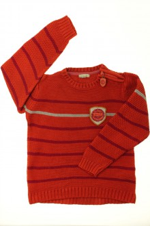 vêtements occasion enfants Pull rayé Vertbaudet 6 ans Vertbaudet
