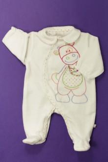 vetement bébé d occasion Pyjama/Dors-bien en velours Noukie's Naissance Noukie's
