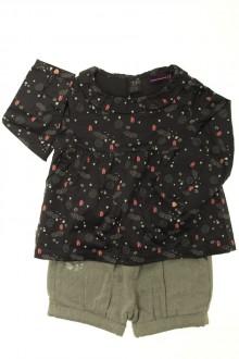 vêtements bébés Ensemble short et blouse Sergent Major 18 mois Sergent Major
