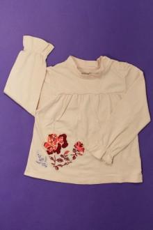 vêtement enfant occasion Tee-shirt manches longues brodé Berlingot 3 ans Berlingot