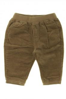 habits bébé occasion Pantalon en velours ras Vertbaudet 6 mois Vertbaudet