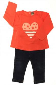 vêtements bébés Ensemble jean et tee-shirt Tape à l'Œil 18 mois Tape à l'œil
