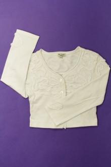 vetement occasion enfants Tee-shirt manches longues boutonné Eliane et Léna 6 ans Eliane et Léna