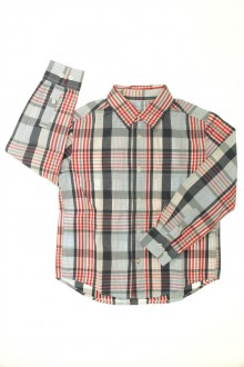 vêtements occasion enfants Chemise à carreaux Cyrillus 6 ans Cyrillus