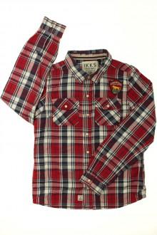 vetement d occasion enfant Chemise à carreaux IKKS 10 ans IKKS