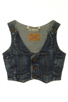 vetement enfants occasion Gilet en jean Teddy Smith 8 ans Teddy Smith