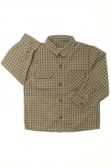 vêtements enfants occasion Chemise à carreaux Coudémail 4 ans Coudémail