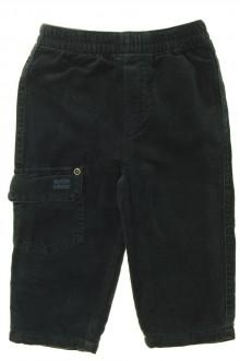 Habits pour bébé occasion Pantalon en velours fin Sucre d'Orge 9 mois Sucre d'Orge