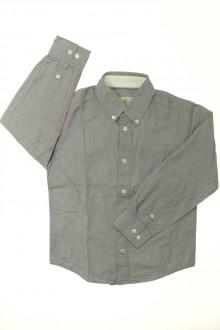 vêtements occasion enfants Chemise à fines rayures Cyrillus 8 ans Cyrillus
