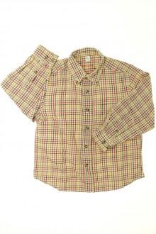 vetements d occasion enfant Chemise à petits carreaux Cyrillus 4 ans Cyrillus