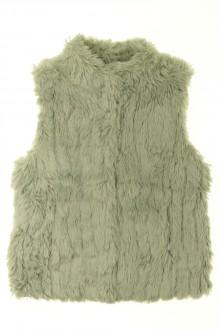 vêtements occasion enfants Gilet fausse fourrure Zara 7 ans Zara