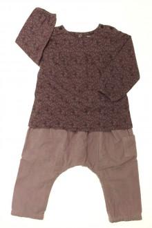 vêtements bébés Ensemble sarouhel et tee-shirt Vertbaudet 18 mois Vertbaudet