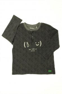 vetement occasion enfants Tee-shirt manches longues à chevrons IKKS 2 ans IKKS