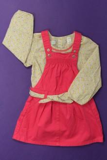 habits bébé Ensemble robe et blouse Obaïbi 18 mois Obaïbi