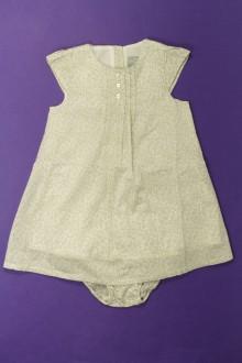 Habits pour bébé Robe fleurie et culotte Cyrillus 18 mois Cyrillus