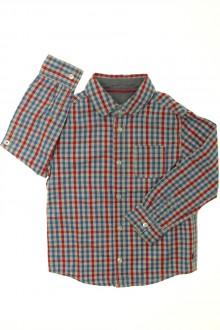 vetements enfants d occasion Chemise à carreaux Okaïdi 4 ans Okaïdi