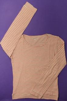 vetement occasion enfants Tee-shirt manches longues rayé CFK 12 ans CFK