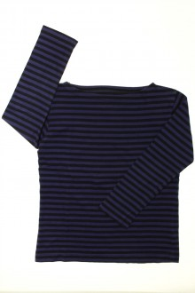 vetement occasion enfants Tee-shirt rayé manches longues  CFK 8 ans CFK