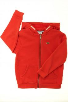 vêtement enfant occasion Sweat zippé Lacoste 6 ans Lacoste