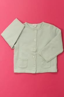 Habit d'occasion pour bébé Sweat boutonné Jacadi 12 mois Jacadi