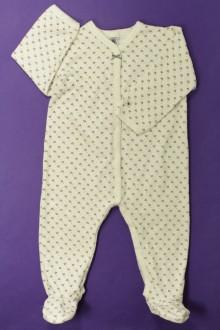 vêtements occasion enfants Pyjama/Dors-bien en velours  Petit Bateau 2 ans Petit Bateau