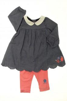habits bébé occasion Ensemble robe et legging Orchestra 9 mois Orchestra