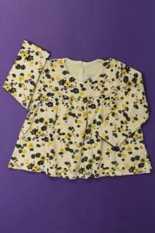 habits bébé occasion Tee-shirt manches longues fleuri Petit Bateau 18 mois Petit Bateau