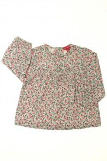 vêtements bébés Tee-shirt manches longues fleuri Grain de Blé 18 mois Grain de Blé