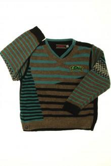 vêtements enfants occasion Pull rayé Catimini 2 ans Catimini