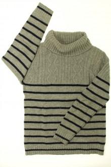 vêtements enfants occasion Pull col roulé Okaïdi 10 ans Okaïdi