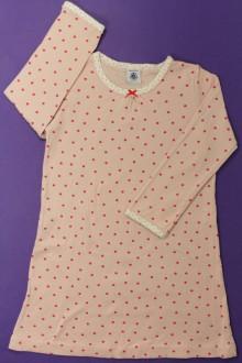 vetement occasion enfants Chemise de nuit à pois Petit Bateau 4 ans Petit Bateau