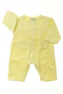 vêtements bébés Pyjama/Dors-bien en velours sans pieds Natalys 1 mois Natalys