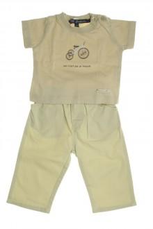 habits bébé Ensemble pantalon et tee-shirt Lili Gaufrette 3 mois Lili Gaufrette