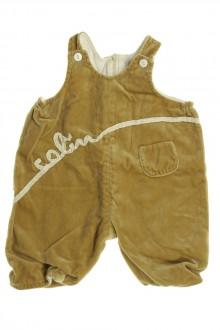vetements d occasion bébé Barboteuse en velours ras Les Bébés de Floriane 6 mois Les Bébés de Floriane