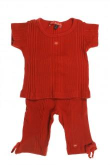 Habit de bébé d'occasion Ensemble tee-shirt et legging Lili Gaufrette 18 mois Lili Gaufrette