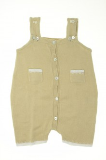 vetement bébé d occasion Combishort en tricot Bout'Chou 3 mois Bout'Chou