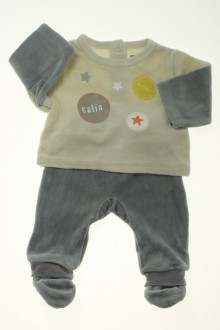 habits bébé occasion Pyjama en velours
